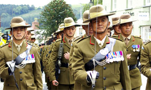 Click to go to the Gurkhas section
