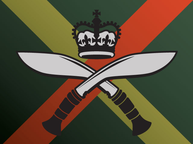 Royal Gurkha Rifles insignia illustration - Believe Collective